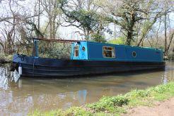 1990 Narrowboat 41' Brummagem Boats Brum Tug