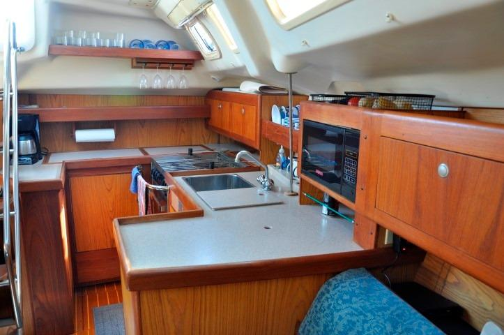 42' Hunter Passage 420+Photo 14