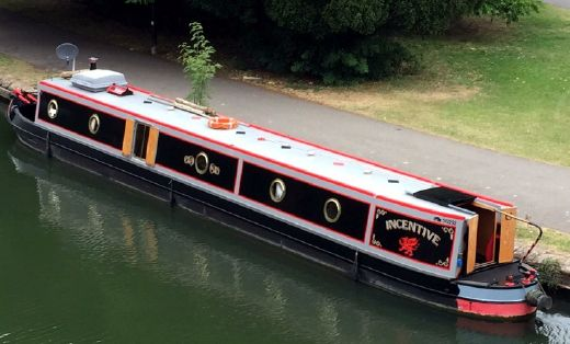 2005 Louis & Joshua 58' Trad Stern Narrowboat