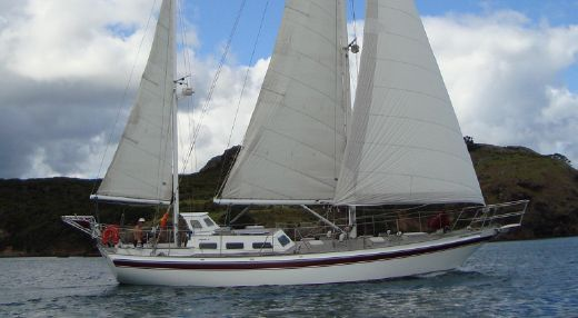 1995 Endurance 44 Steel Pilothouse Ketch