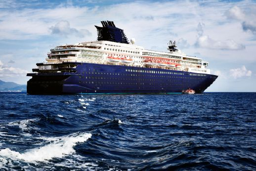 1990 Modern Cruise Ship, 1800 Passengers -Stock No. S2393