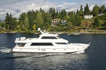 "thumbnail photo 0: 2010 Hargrave Custom Yachts ""Sky Lounge 101"""