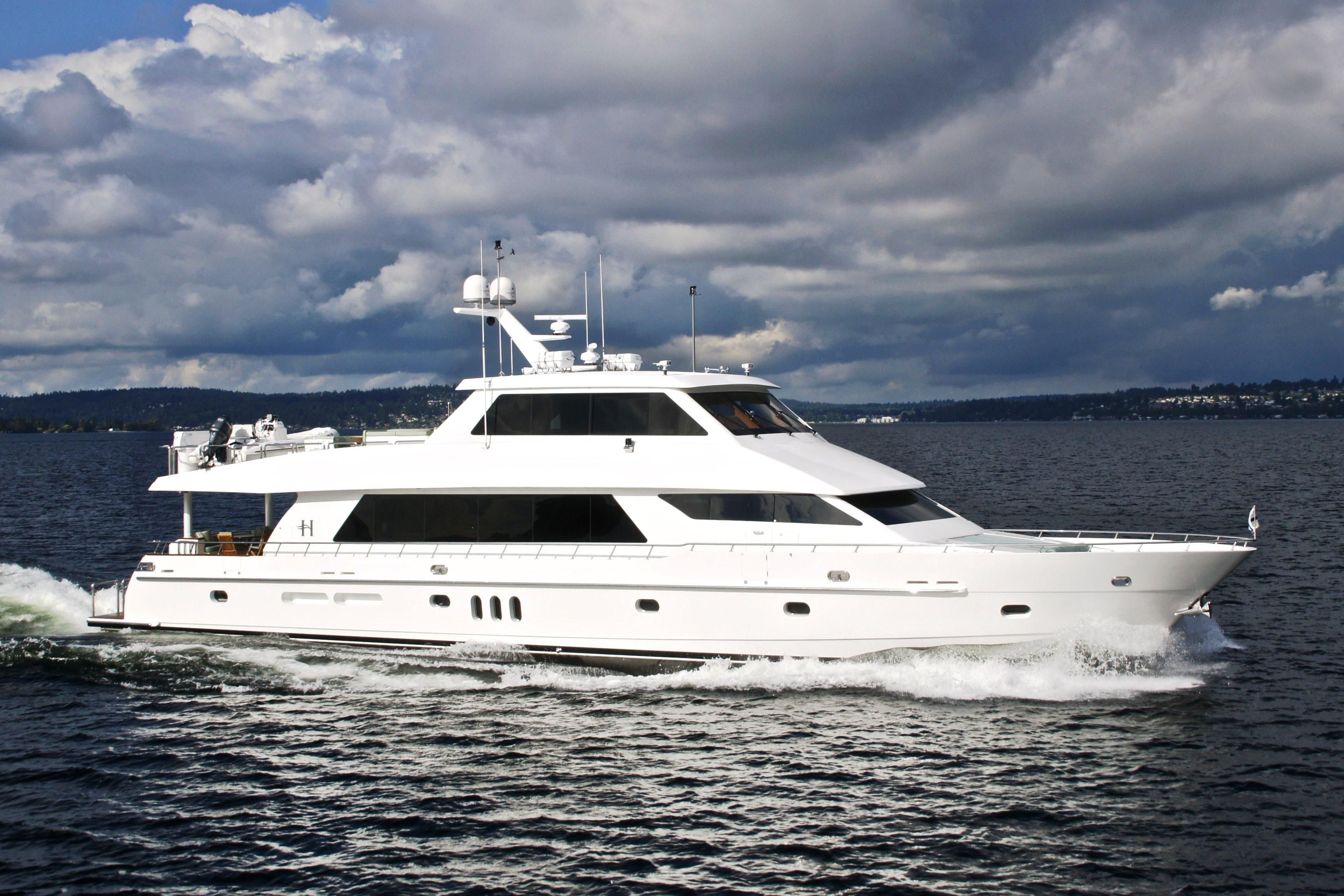 """World Cat Boats For Sale >> """"SEA YOU LATER"""" Motor Yacht Hargrave Custom Yachts for ..."""