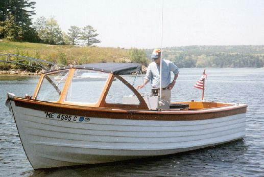1985 Shearwater Launch