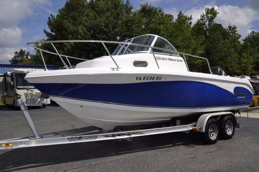 2007 Carolina Skiff SEA CHASER 2100