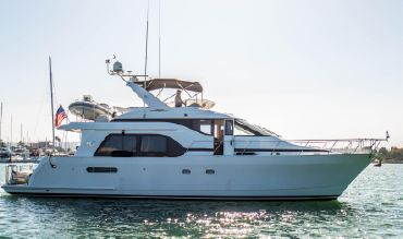 1998 Queenship Admiralty Raised Pilothouse