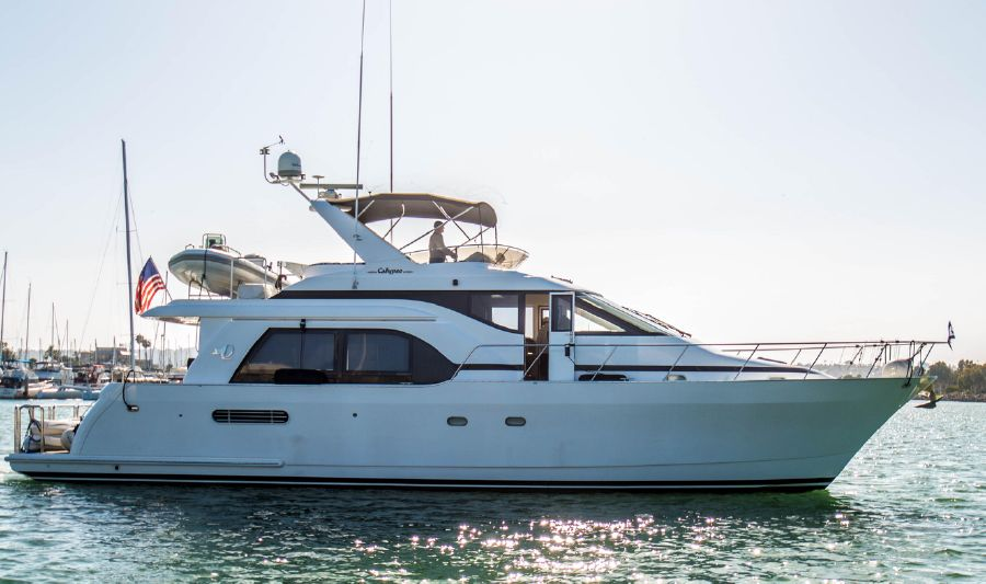 Queenship 59 Admiralty Pilothouse for sale in San Diego