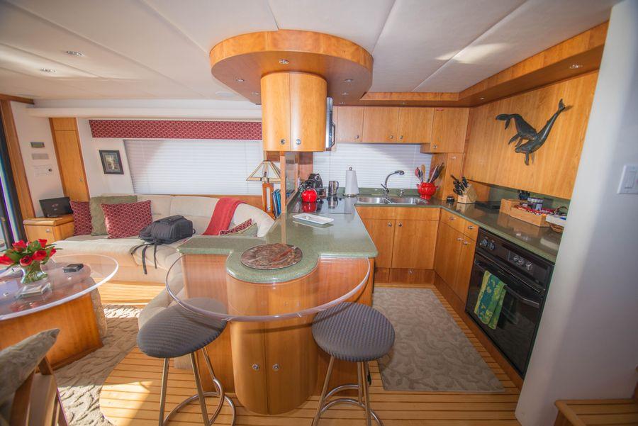 Queenship 59 Admiralty Salon Interior