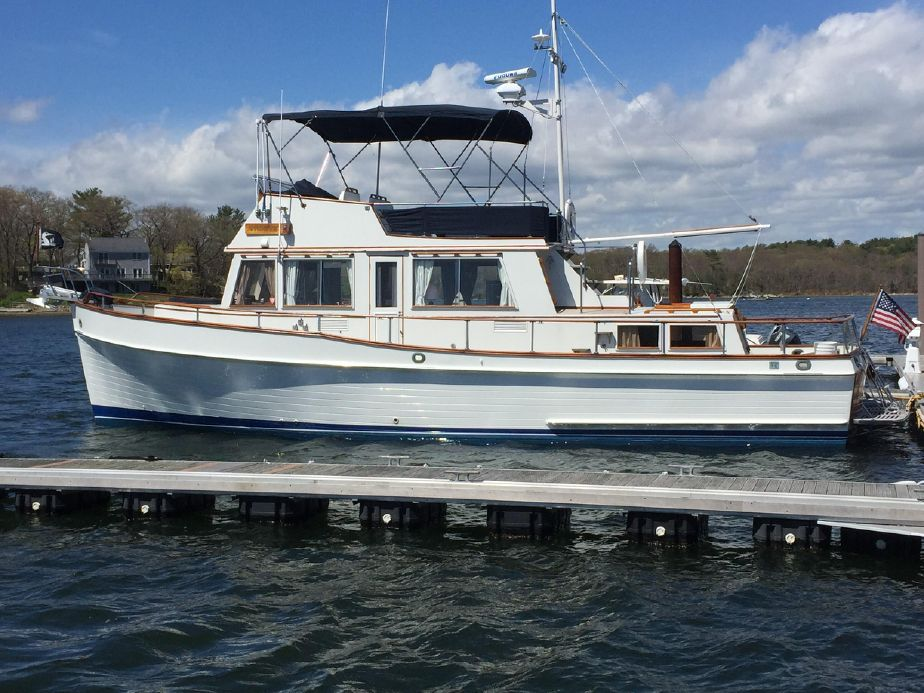 Banks For Sale >> 1978 Grand Banks 42 Classic Trawler Power Boat For Sale