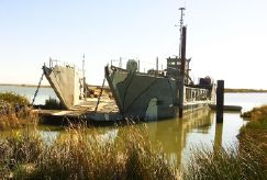 1954 Landing Craft Utility Lcu - RORO Cargo LCT LCM Triple Screw