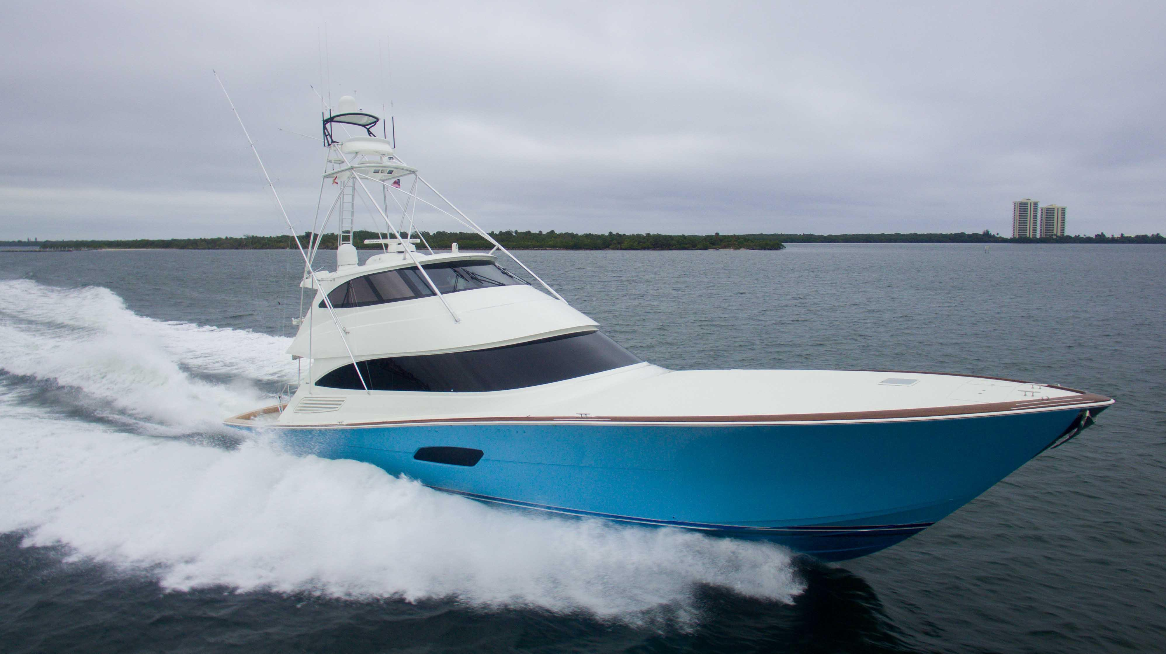 2017 Viking 92 Convertible Power Boat For Sale - www