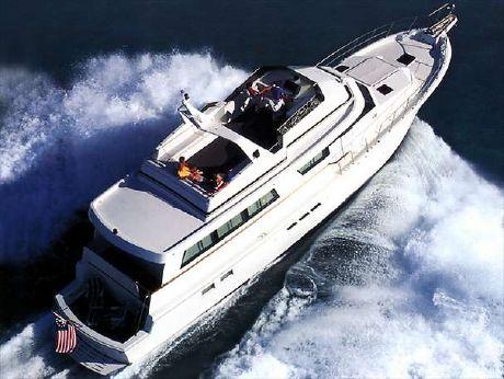 1999 Hatteras 70 Cockpit Motor Yacht