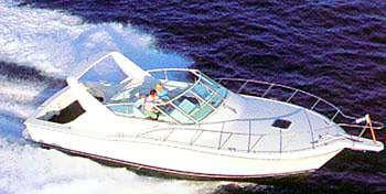 1996 Hatteras 39 Sport Express