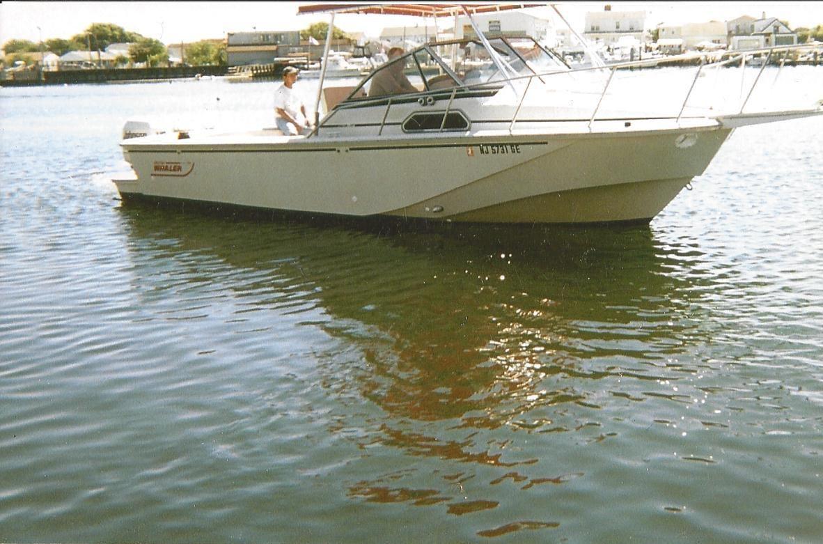 1989 boston whaler 27 full cabin express power boat for sale for Brigantine fishing report