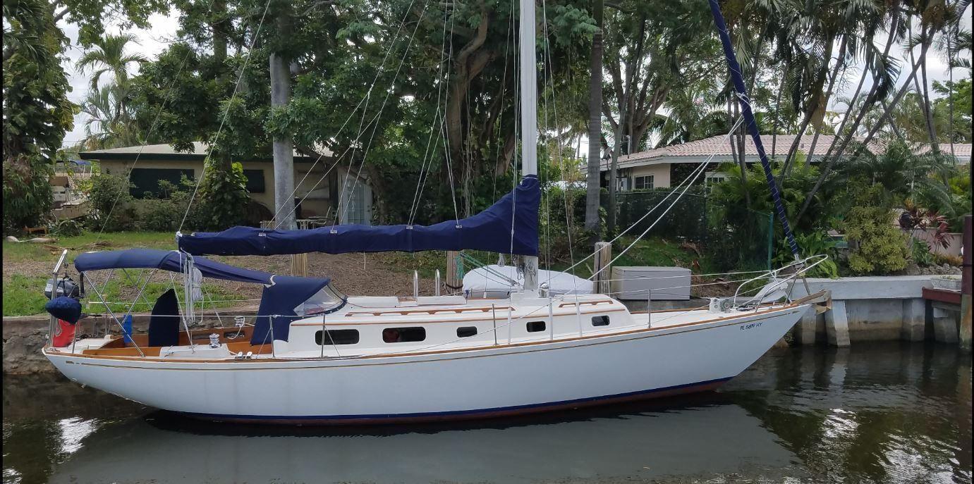 1975 Bristol Bristol 40 Ted Hood Sail Boat For Sale Www Yachtworld Com