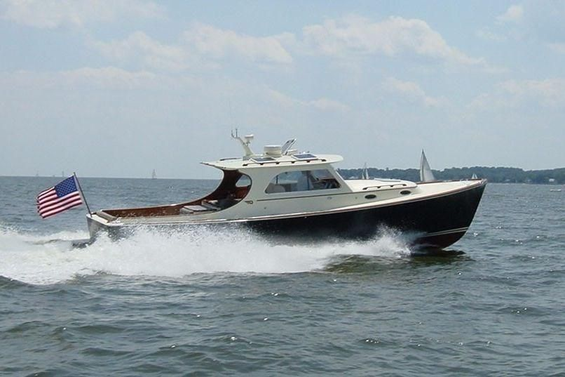 2002 hinckley picnic boat ep power boat for sale www for Picnic boat plans