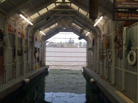 2002 Boathouse Fully enclosed