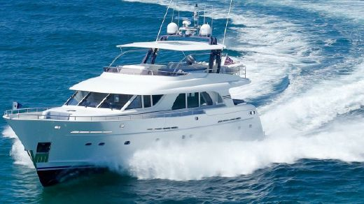 2013 Custom 73' Flybridge Motor Yacht