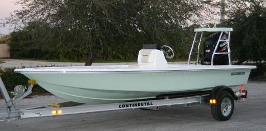 2014 Bluewater 180 Flats Boat