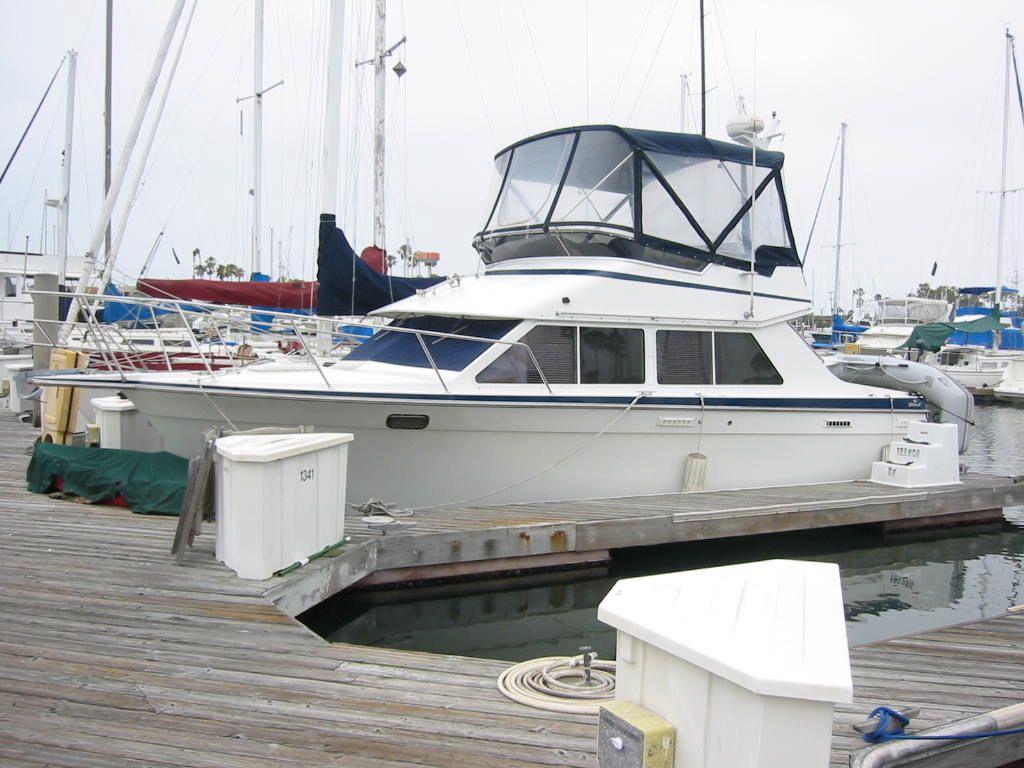30 ft 1991 tollycraft sport cruiser