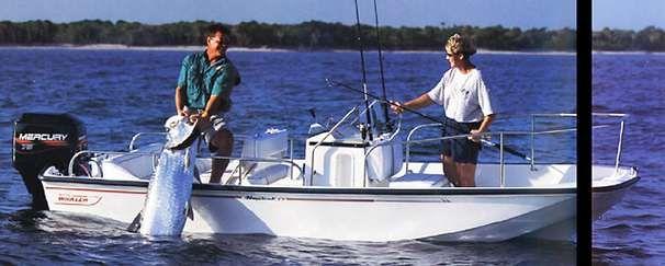 1992 Boston Whaler 17 Montauk Power Boat For Sale - www
