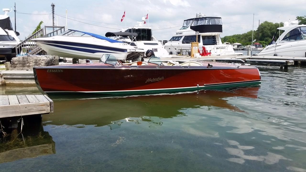 2007 Hacker Craft 24 Runabout Power Boat For Sale Www