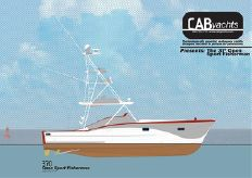 2015 Cab Yachts 370 Open Sport Fisherman