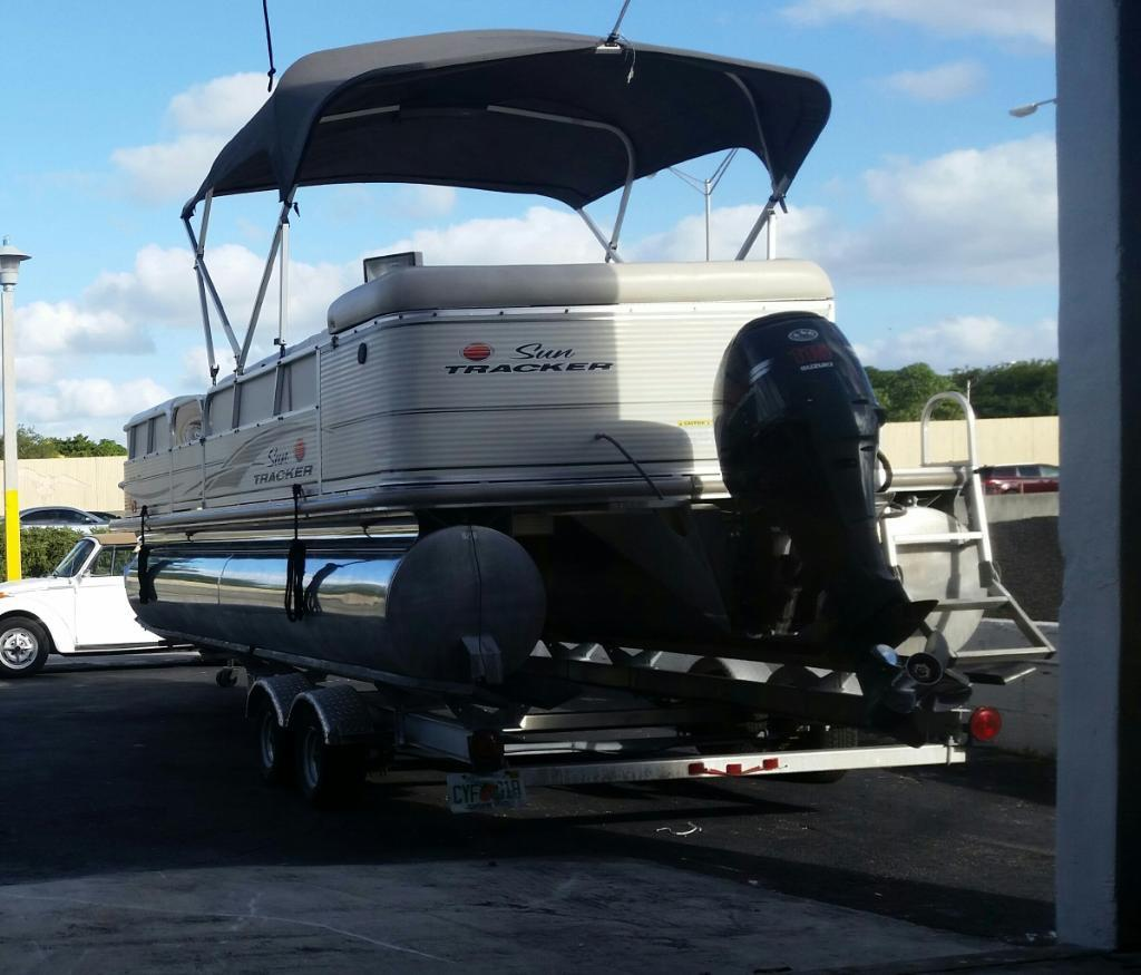 2007 Sun Tracker 24 Power New and Used Boats for Sale -