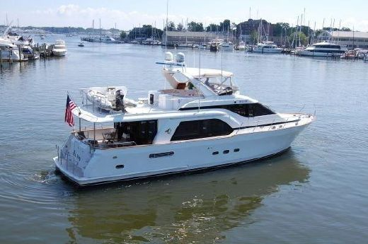 1996 Queenship Pilothouse Motoryacht Stabilized