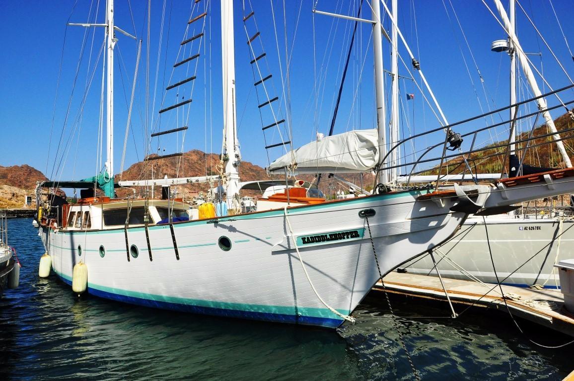 50' Hudson Force Ketch+Boat for sale!