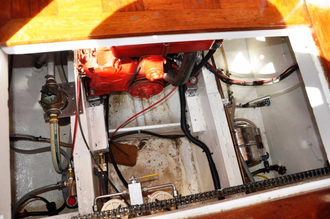 50' Hudson Force Ketch+Upgraded wiring