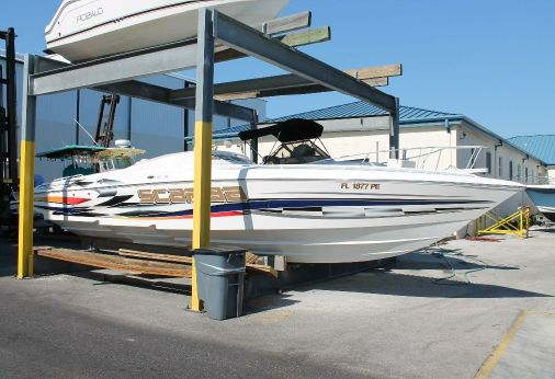 2002 Wellcraft 33 Scarab AVS