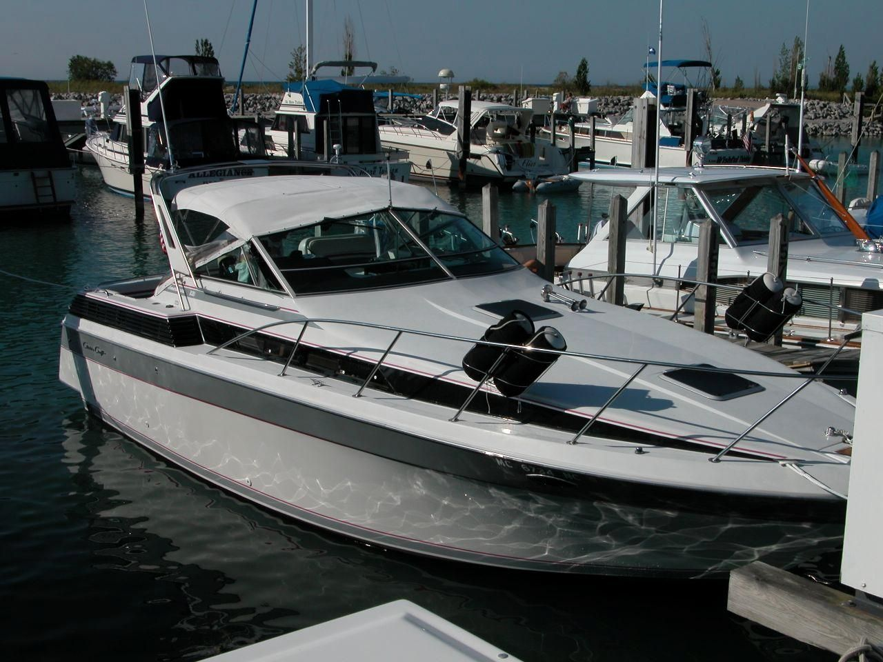 1987 Chris Craft Amerosport 320 Power Boat For Sale Www