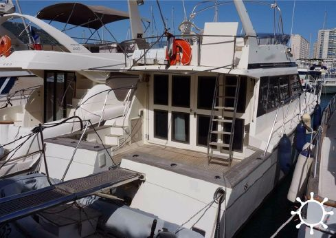 1989 Tiger Marine Aquayacht 421