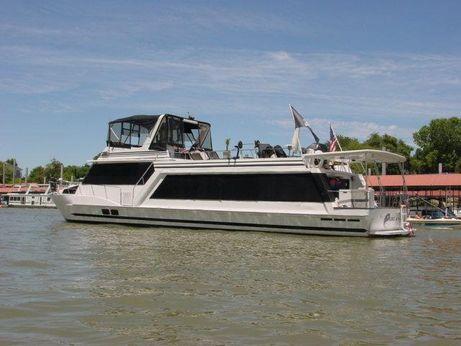 1988 Hilburn Houseboat