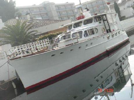 1937 Wheeler Yacht Company 65 Trawler