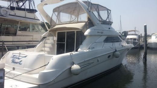 2000 Searay 450 Exp Bridge