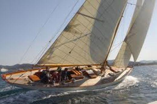 1937 Classic Sloop - Varv-Gamleby Bermudian sloop