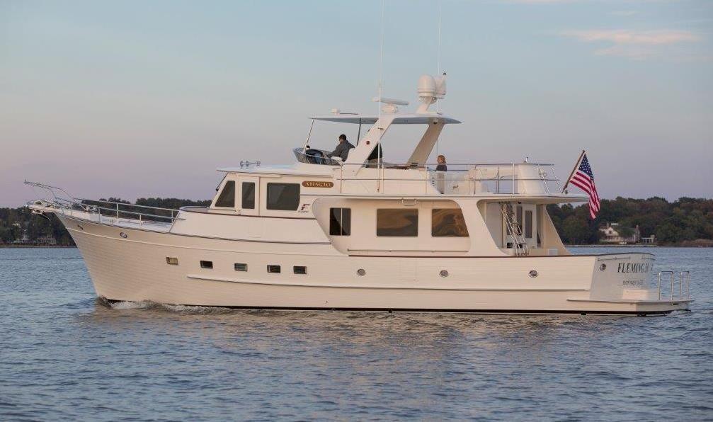 2018 Fleming Pilothouse Motor Yacht New Build Motor B D