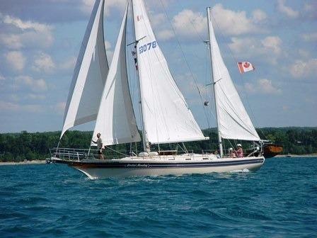 1984 Bayfield 40 Sailboat