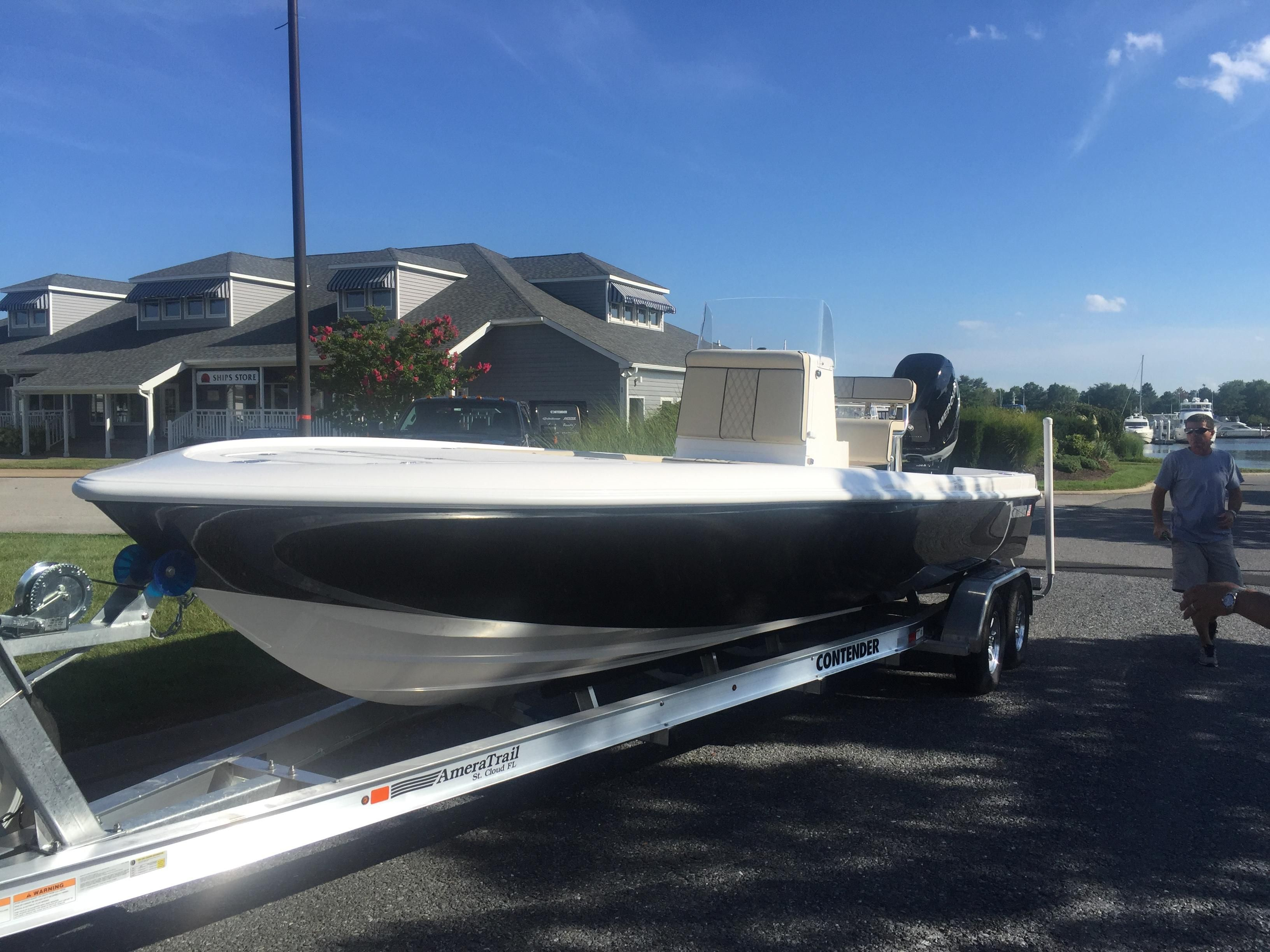 2017 contender 25 bay power boat for sale for Outboard motors for sale maryland