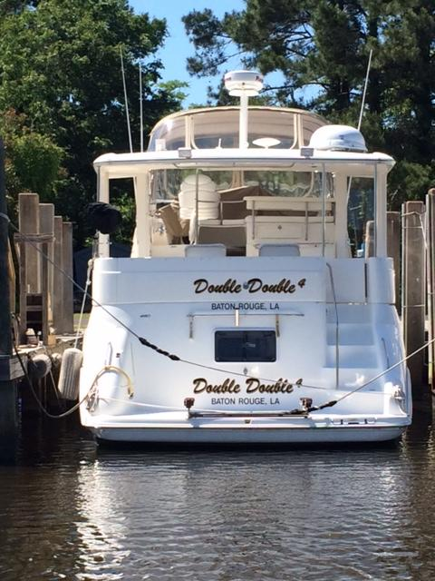 2002 sea ray 420 aft cabin power boat