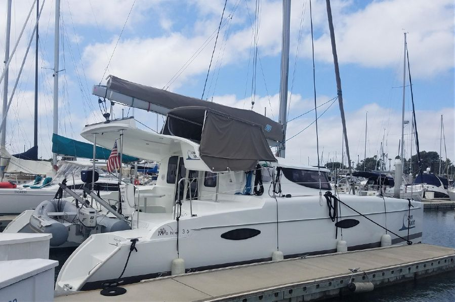 Fountaine Pajot Mahe 36 Catamaran for sale