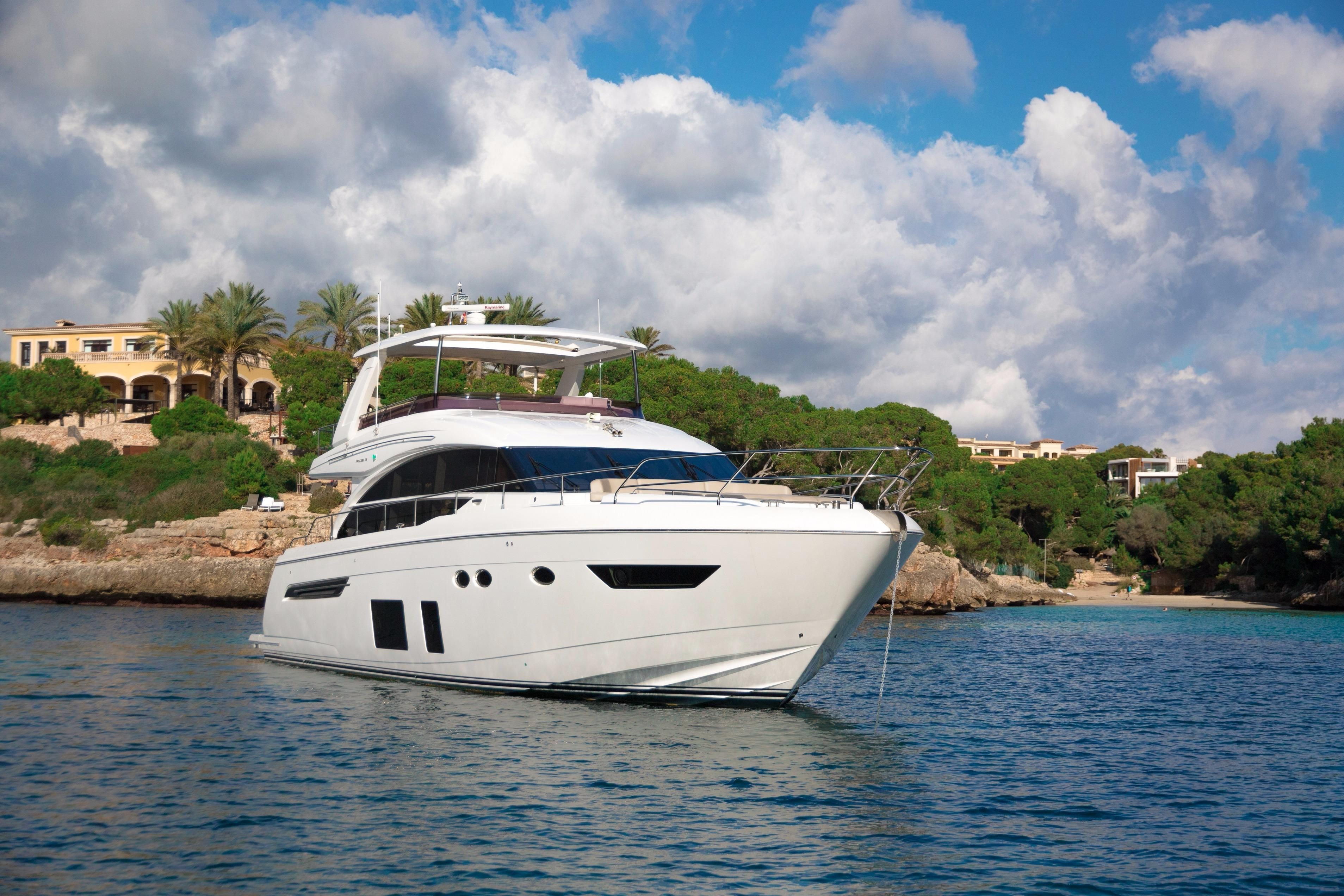 2016 princess 68 power new and used boats for sale www Princess 68 motor yacht
