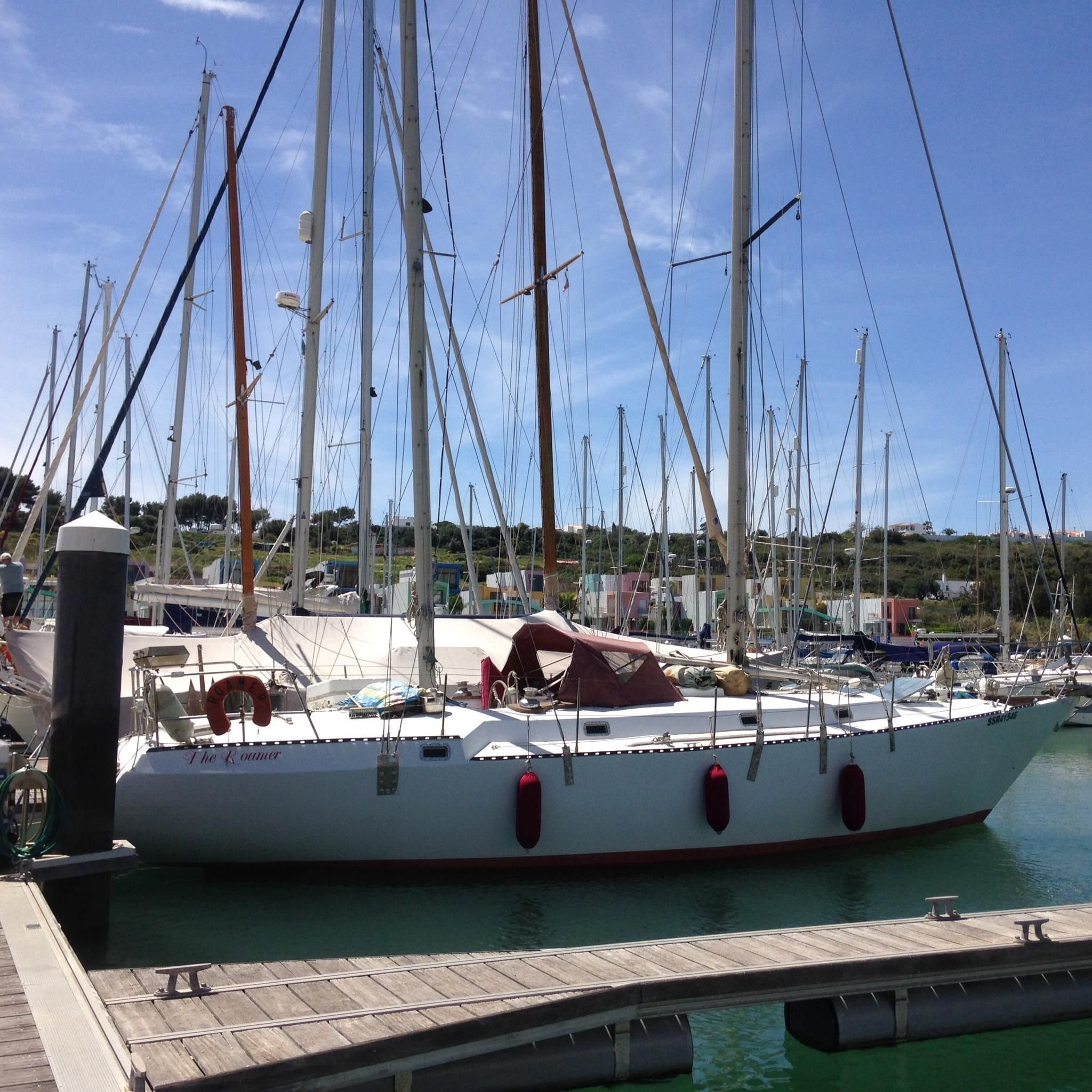 1977 Stress Ketch 50 Sail Boat For Sale