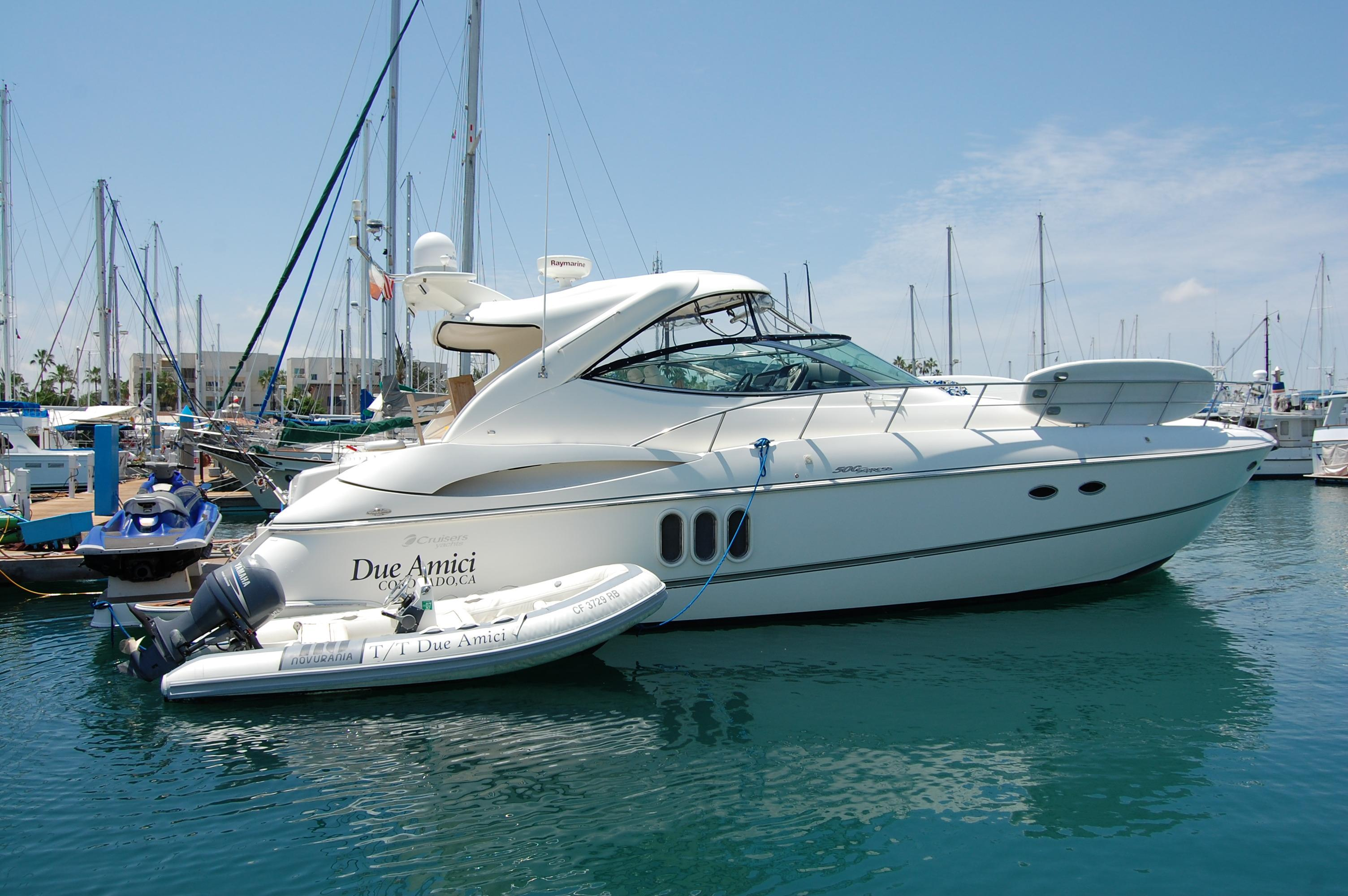 50' Cruisers Yachts 500 Express+Boat for sale!