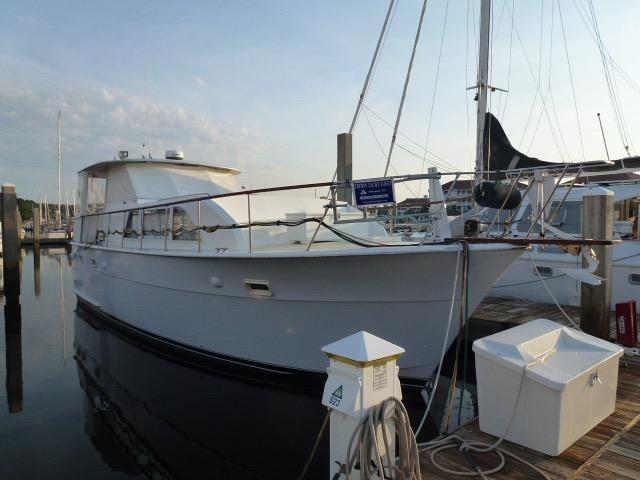 1973 hatteras 43 double cabin power boat for sale www for Viking 43 double cabin motor yacht