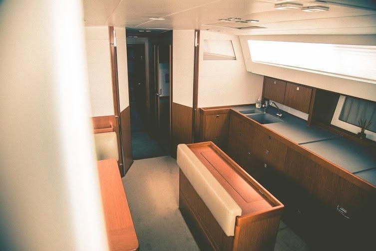 Beneteau Sense 50 Salon Interior