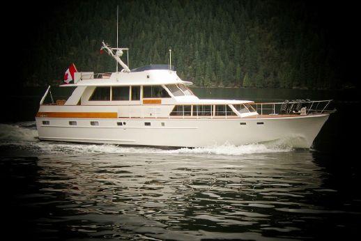 1972 Monk Mcqueen Flush Deck Motor Yacht