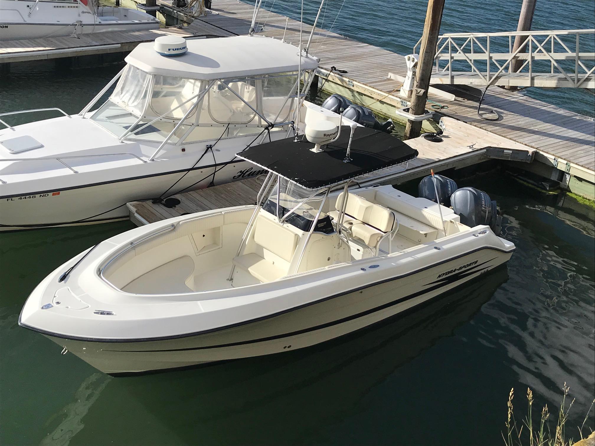 2003 hydra sports 2796 cc vector power boat for sale www rh yachtworld com